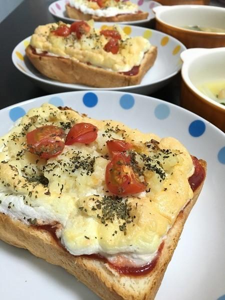 メレンゲトースト 卵白救済レシピ(^^♪