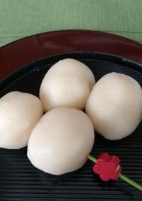 一番作りやすい お豆腐ともち粉の白玉