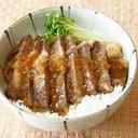 牛ロースステーキ丼