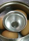 99%割れない♪スーパー時短ゆで卵作り方