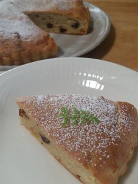 豆乳ヨーグルトの大麦ケーキ