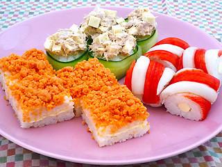 ひな祭り ひとくち寿司
