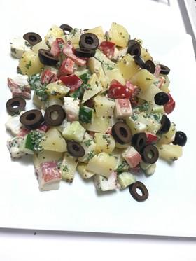 タコとポテトのスペイン風サラダ