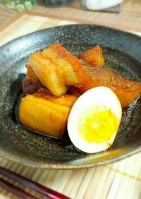 フライパンで簡単☆豚の角煮