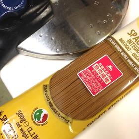全粒粉パスタは圧力鍋で美味しく茹でる