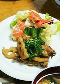 鶏手羽中の煮物