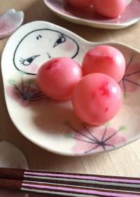 ラディッシュのピンクピクルス