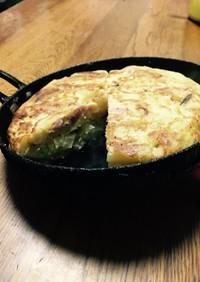 トルティージャ スペイン風ポテトの卵焼き
