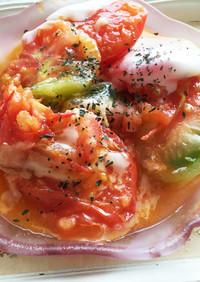 美容と健康に!簡単トマト焼き
