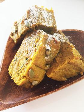 ダイエット☆お野菜しっとりパウンドケーキ