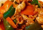 ご飯がすすむケチャップ炒め。