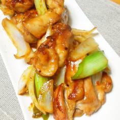 ♬鶏もも肉とネギの味噌炒め❤♫