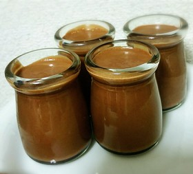 糖質1.8g糖質制限☆豆乳チョコムース
