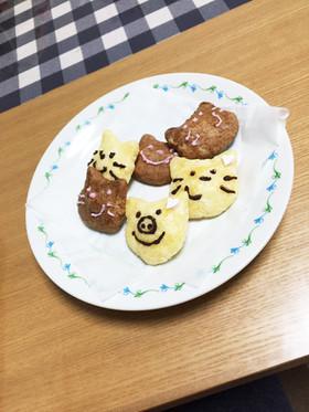 オーブンを使わないクッキー