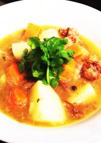 香味野菜たっぷり☆オックステールスープ