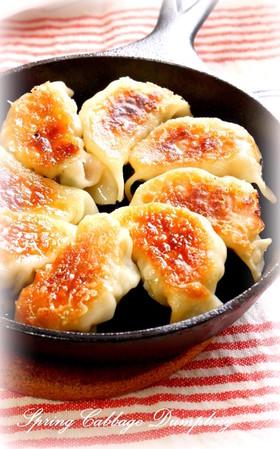 スキレット★おいしい鉄鍋餃子★
