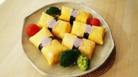 ひな祭りやお花見に♪なんちゃって茶巾寿司
