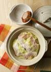 豚バラとキャベツのミルフィーユ鍋