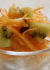 人参とリンゴのシリシリサラダ