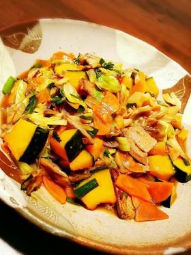 レバーとたっぷり野菜♥スタミナあんかけ