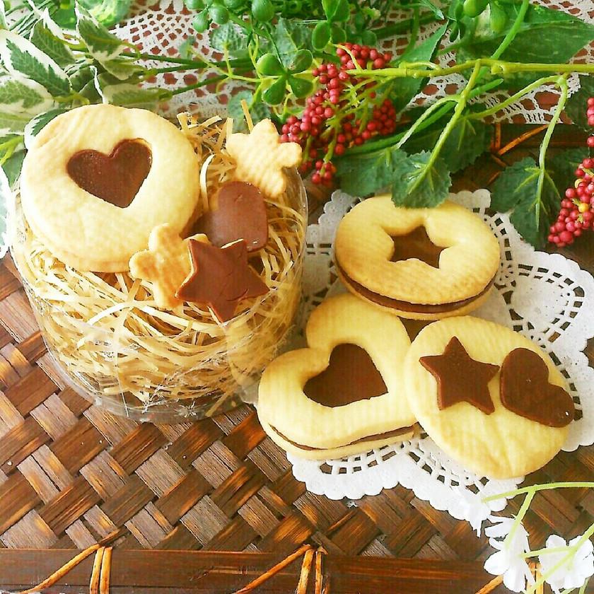スライス生チョコ♡チョコサンドクッキー