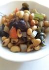 ダッチオーブンで五目豆