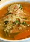 【低糖質な食事】野菜の和風ピリ辛雑炊