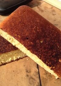 ホットサンドメーカーで簡単ホットケーキ