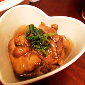 カワハギの肝の甘辛煮