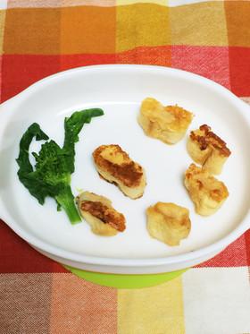 手づかみ離乳食✨お麩レンチトースト