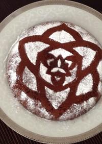 炊飯器で簡単♥︎しっとり濃厚チョコケーキ