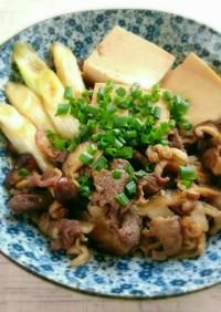 簡単すぎる!我が家の肉豆腐★