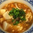 ふわポカ♪簡単キムチと豆腐のスープ