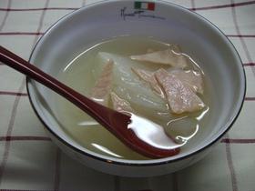 圧力鍋で!新玉ねぎのスープ♪
