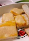 (離乳食後期)かぼちゃのチーズトースト♪