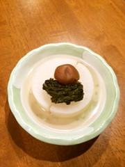 断食回復食 大根の梅煮の写真