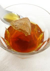 フルーツティー(ドライ苺×紅茶)
