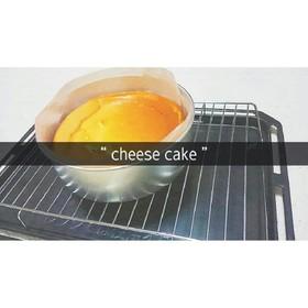 しっとり簡単チーズケーキ