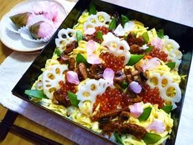 簡単に時短短縮!雛祭り&お祝いちらし寿司