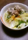 体ぽかぽか☆春キャベツと肉団子のスープ煮
