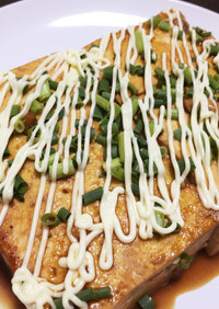 低カロリー、低コストな豆腐ステーキ