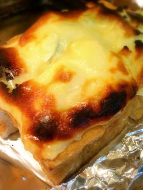 簡単☆厚揚げのネギマヨチーズ焼き