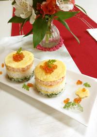 大人女子のひな祭り寿司