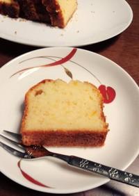 マーマレードのしっとりパウンドケーキ