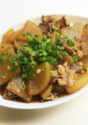 豚バラ大根☆すき焼きのタレで簡単!