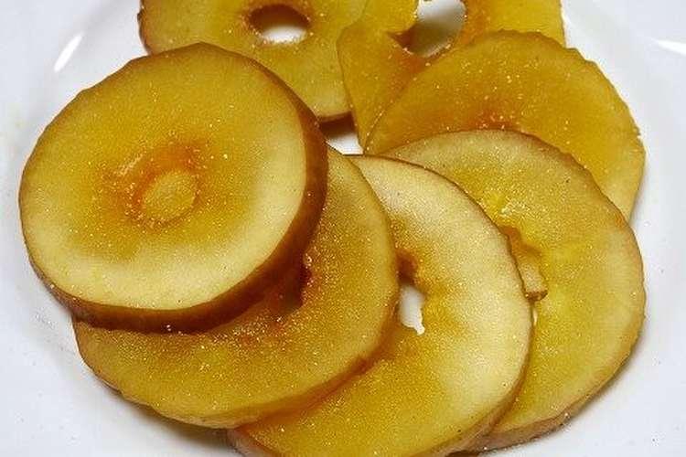 りんご レンジ 焼き
