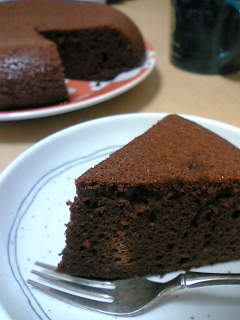 超簡単!炊飯器でチョコケーキ★