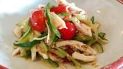 ささみの簡単ヘルシー中華サラダの写真