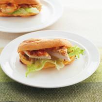 豚肉のマスタード焼き&サニーレタスのシュー