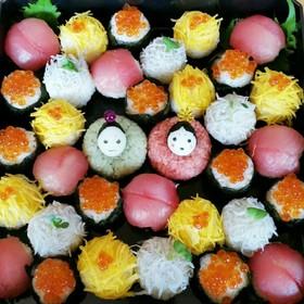 ❀桃の節句を祝う❀手まり寿司❀